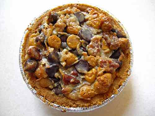 bourbon pecan pie cup hill country chicken