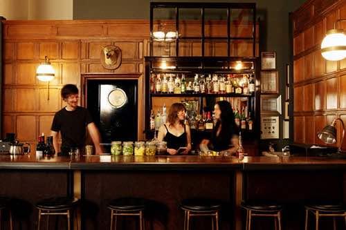 lobby bar at ace hotel new york city