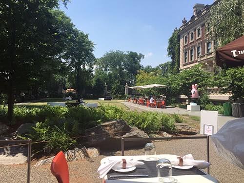 Tarallucci e Vino view of Cooper Hewitt Museum