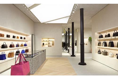 interior store of celine soho