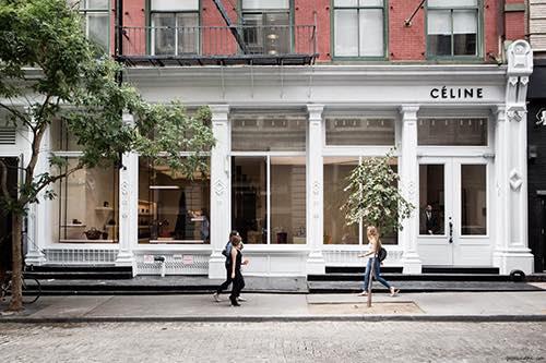 exterior of Celine soho