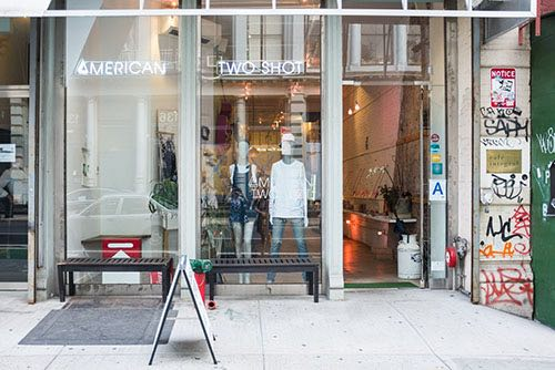 exterior of american two shot boutique soho