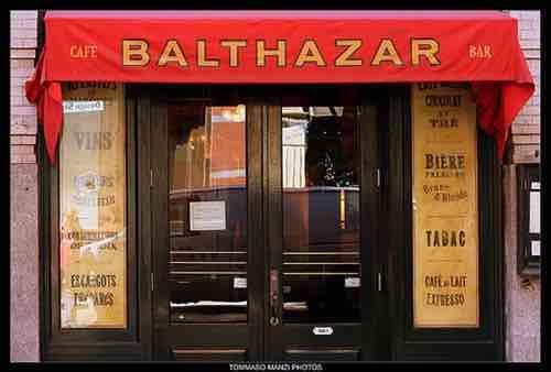 Balthazar soho exterior