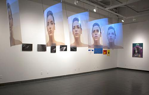 images at inside gallery at sva gramercy gallery