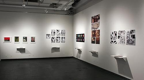inside gallery at sva gramercy gallery