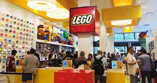 lego store interior flatiron