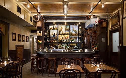 bar at freemans