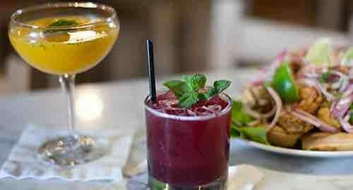 pio pio 8 restaurant food spread manhattan new york city