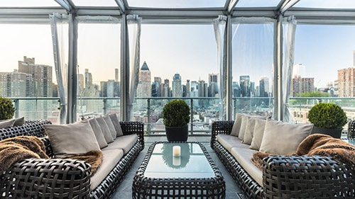 press lounge view ink 48 hotel manhattan new york city
