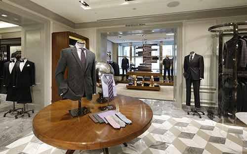 bergdorf goodman men's store fifth avenue manhattan new york city ny
