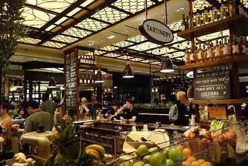 plaza food hall bar