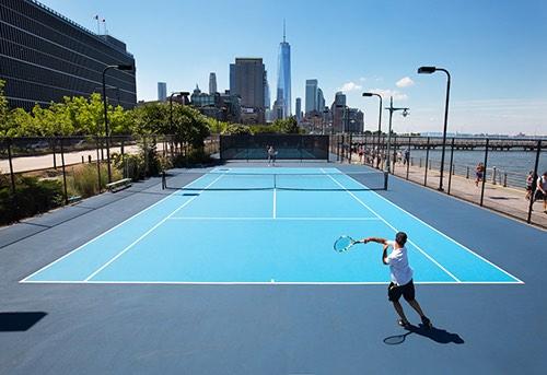 hudson river tennis courts