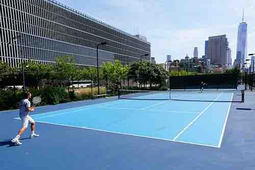 hudson river hard courts