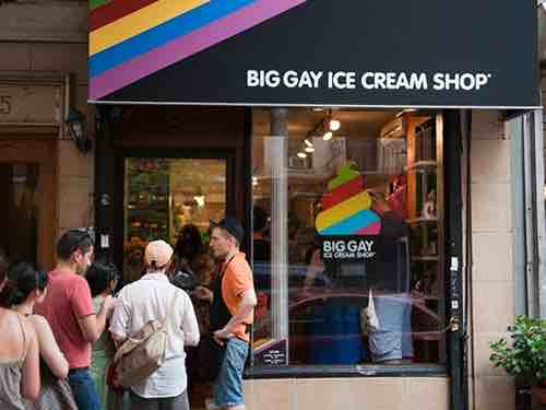 big gay ice cream shop street view