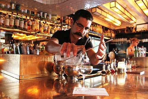 weather up bartender tribeca manhattan new york city