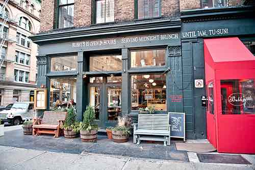 bubbys store front tribeca