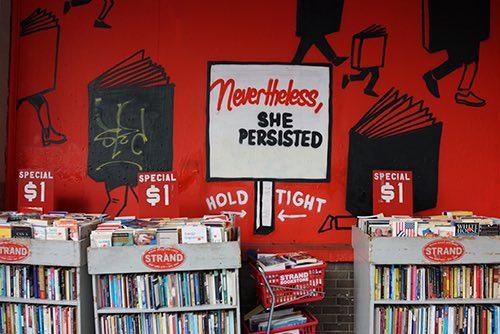 strand bookstore nevertheless