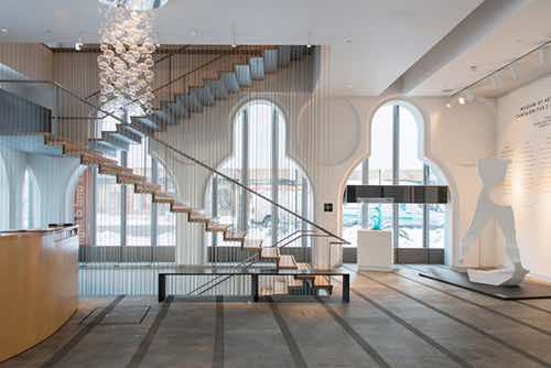 inside museum of arts and design columbus
