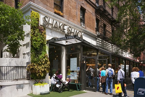 shake shack street view