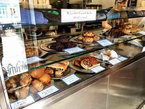 levain bakery counter display