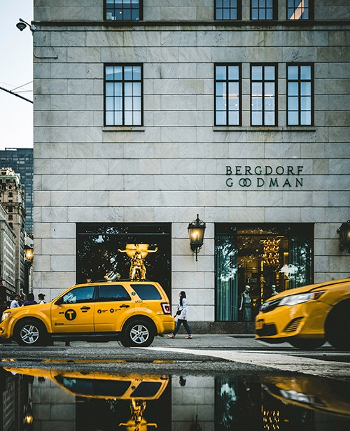 bergdorf goodman on 5th avenue in midtown manhattan new york city, ny