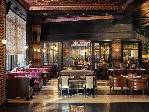 Inside of The Roxy Hotel Tribeca Manhattan New York City NY