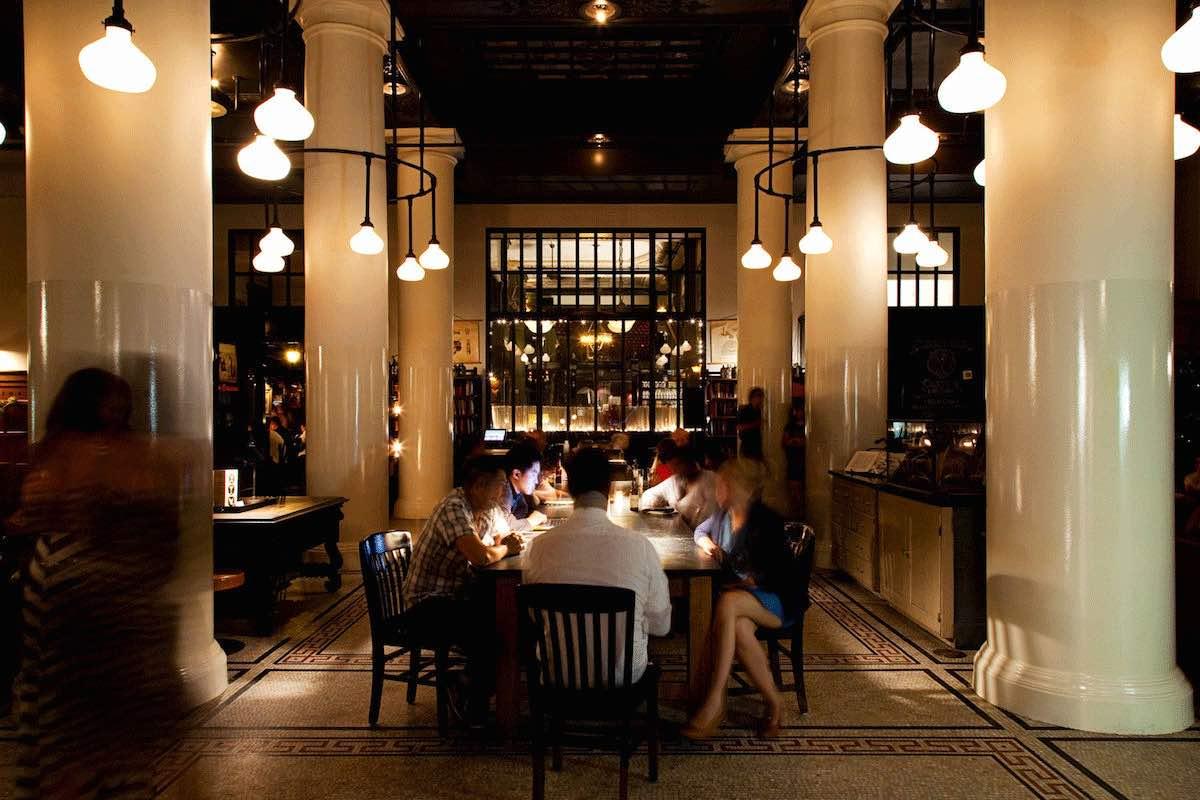 ace hotel lobby manhattan new york city ny