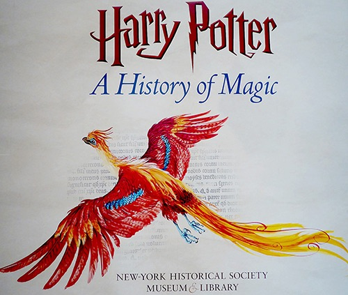 new york historical society harry potter exhibit banner upper west side new york ny