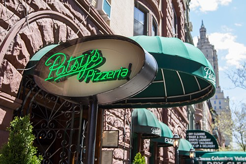 patsys pizzeria store front w 74th street upper west side manhattan new york city ny