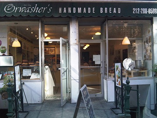 orwasher's front door handmade artisanal bread upper east side manhattan new york city