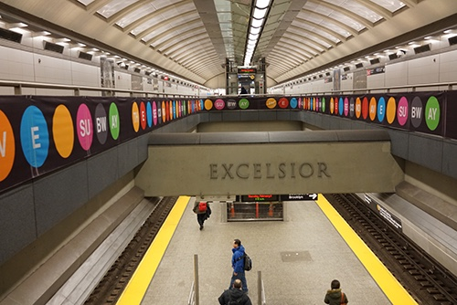 second avenue subway platform 86th street station upper east side manhattan new york city