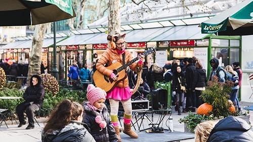 Bryant Park Le Carrousel Storytime
