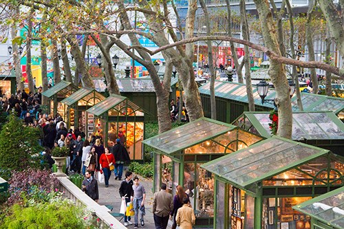 Bryant Park Holiday Shops