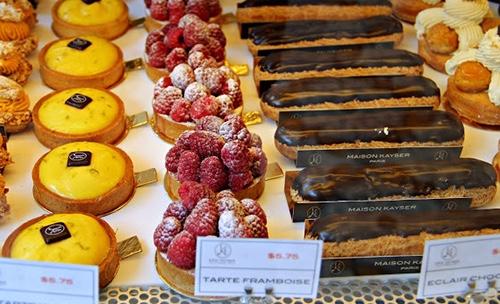 maison kayser bryant park pastry case midtown manhattan new york city ny