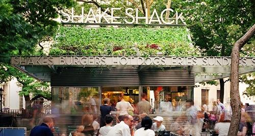 Shake Shack Madison Square Park Manhattan New York City Ny