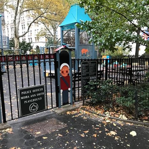 Police Officer Moira Ann Smith Playground Madison Square Park Manhattan New York City NY