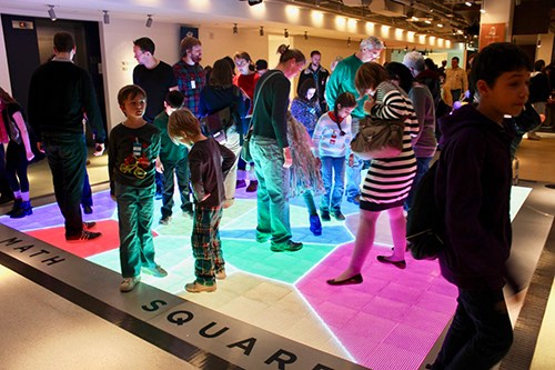 National Museum of Mathematics bright square Manhattan New York City NY