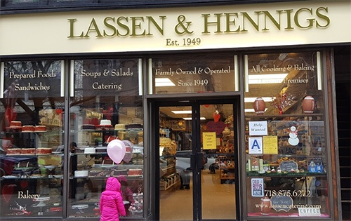 lassen & hennigs outside in brooklyn heights new york city ny