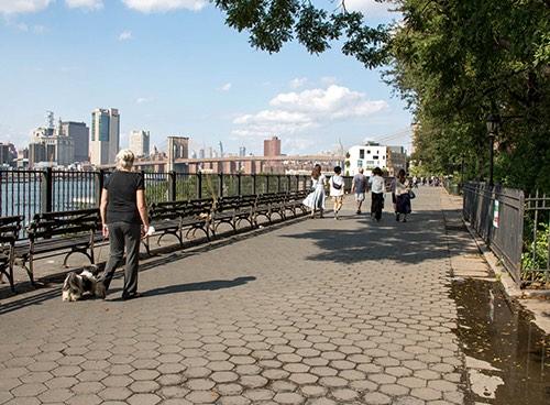 brooklyn heights promenade new york city ny