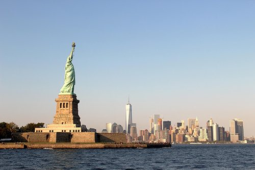 A DAY IN NEW YORK HARBOR -