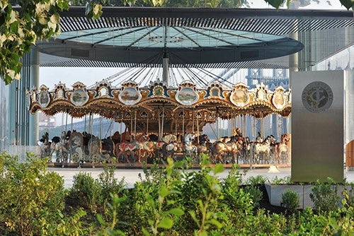 jane's carousel brooklyn bridge park dumbo brooklyn new york city ny
