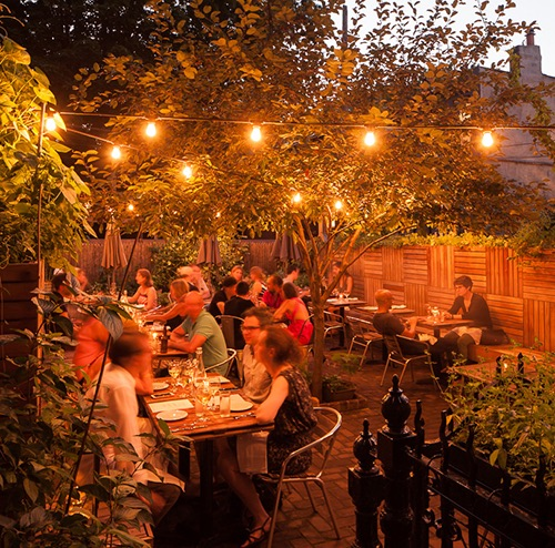 faun garden patio prospect heights brooklyn new york city ny