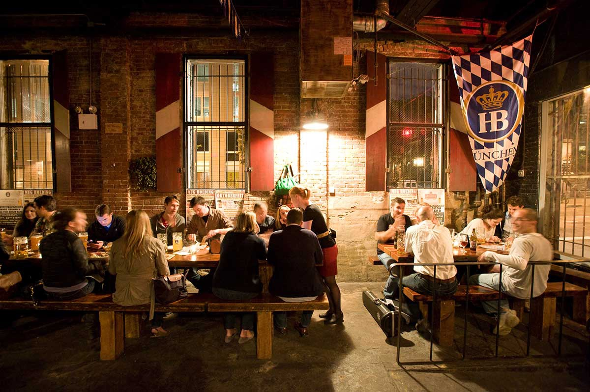 Radegast Hall & Biergarten williamsburg brooklyn new york city ny