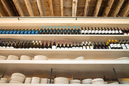 lilia italian wine rack williamsburg brooklyn new york city ny