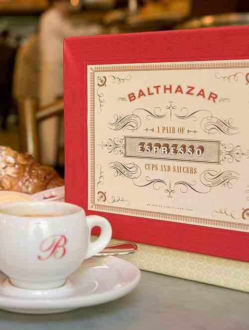 balthazar coffee soho manhattan new york city ny