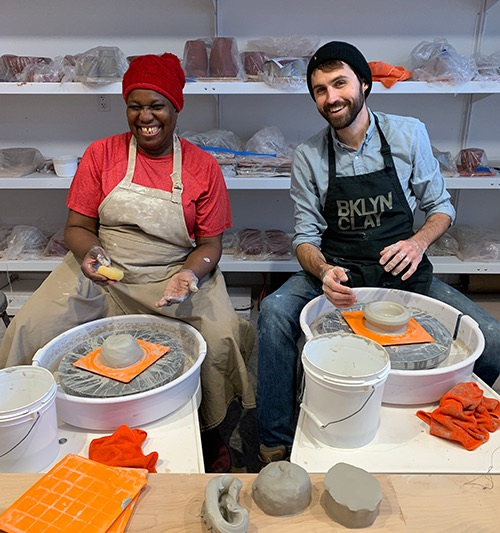 bklyn clay at the wheel prospect heights brooklyn new york city ny