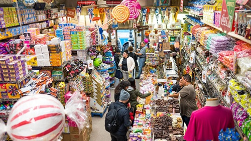 economy candy shop lower east side manhattan new york city ny