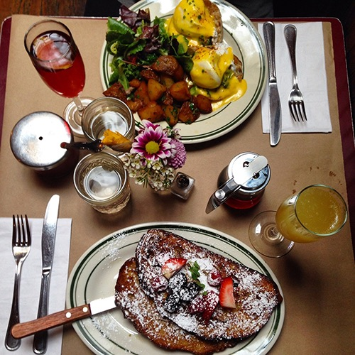 le barricou brunch spread williamsburg brooklyn new york city ny