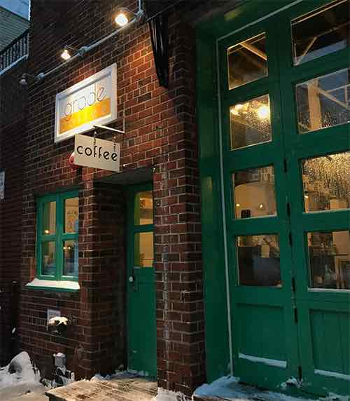 grade coffee exterior williamsburg brooklyn new york city ny