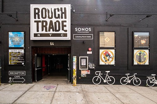 rough trade nyc exterior williamsburg brooklyn new york city ny